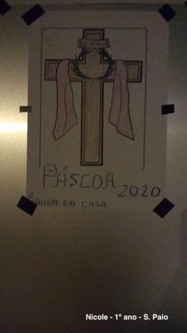 Cruzes da Catequese - Páscoa 2020